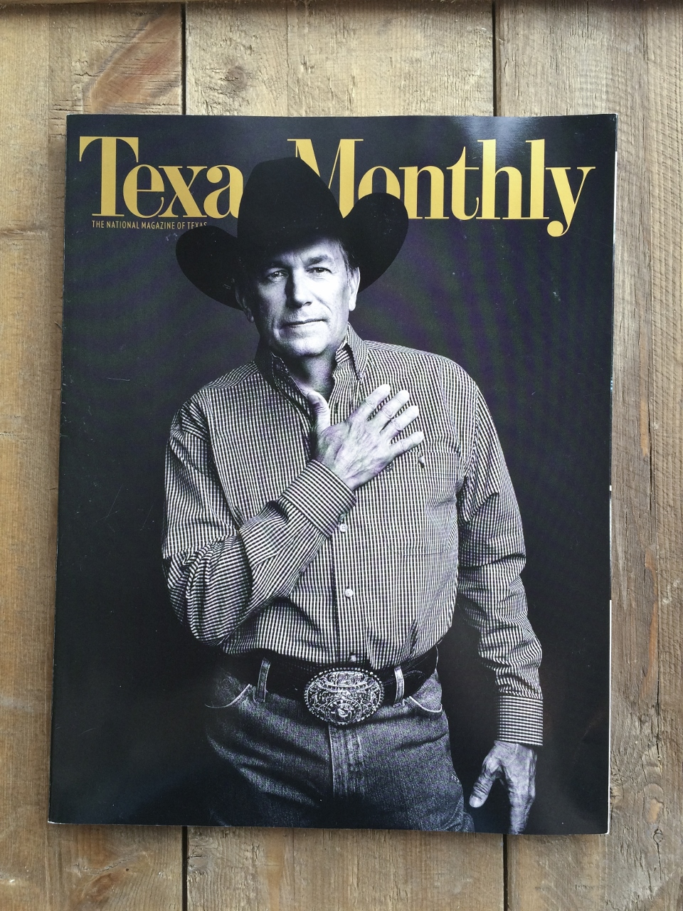 Texas Monthly George Strait Cover June 2014 Issue