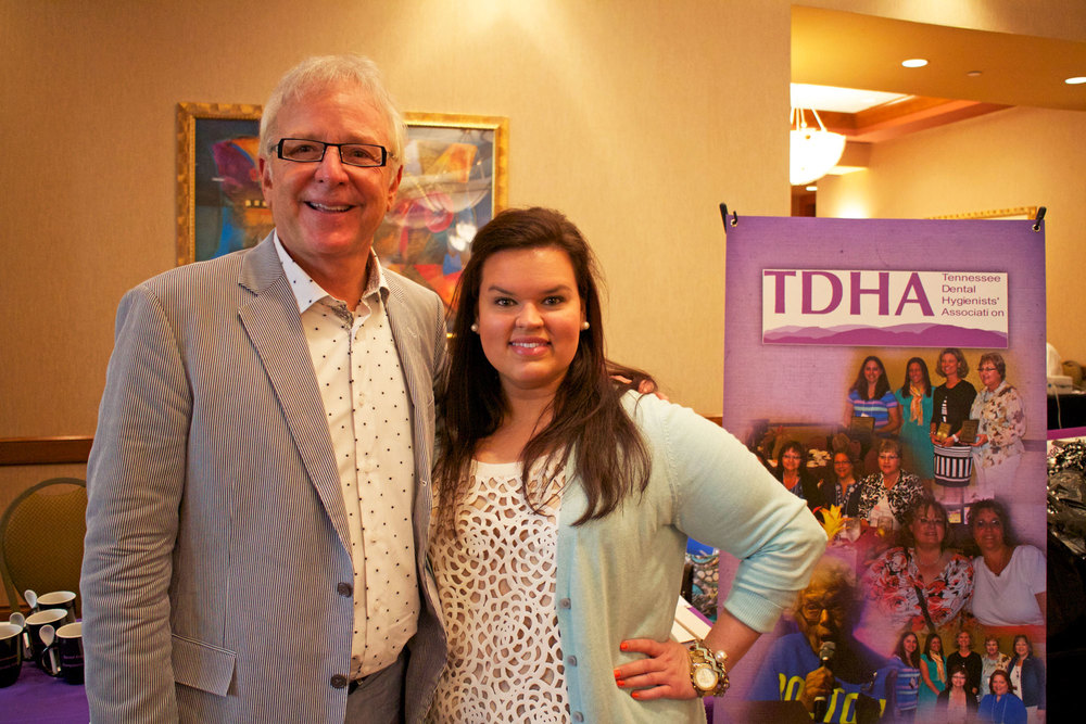 Dr. Tabor with Whitney Howerton, TDHA President