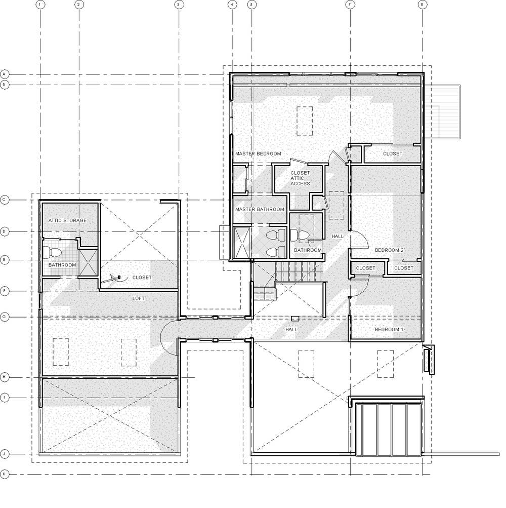 2014-03 914 Coachway_Central_09-EXISTING - Floor Plan - 2nd Floor Existing.jpg