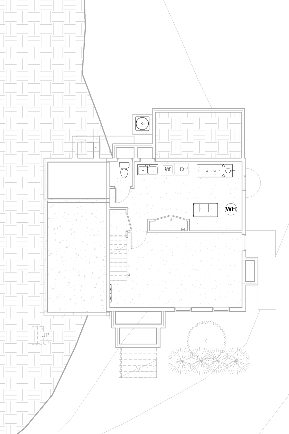 2014-04 4015 Veazey St NW_CENTRAL_09 - Floor Plan - BASEMENT - EXISTING.jpg