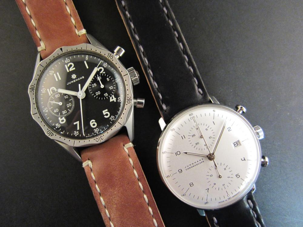 Junghans chronographs.