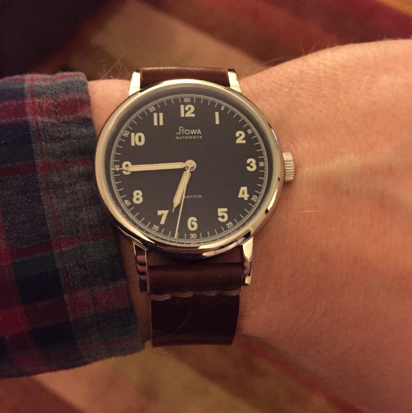 Two-piece on a Stowa Partitio.