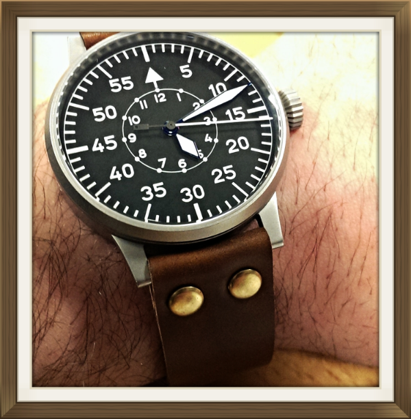 Laco Baumuster B on Cognac Flieger.