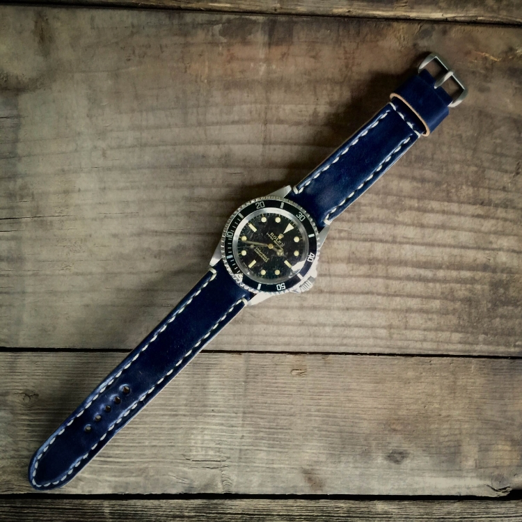 A stunning 1965 Submariner ref 5513 on Navy Arts & Crafts.  Breathtaking.