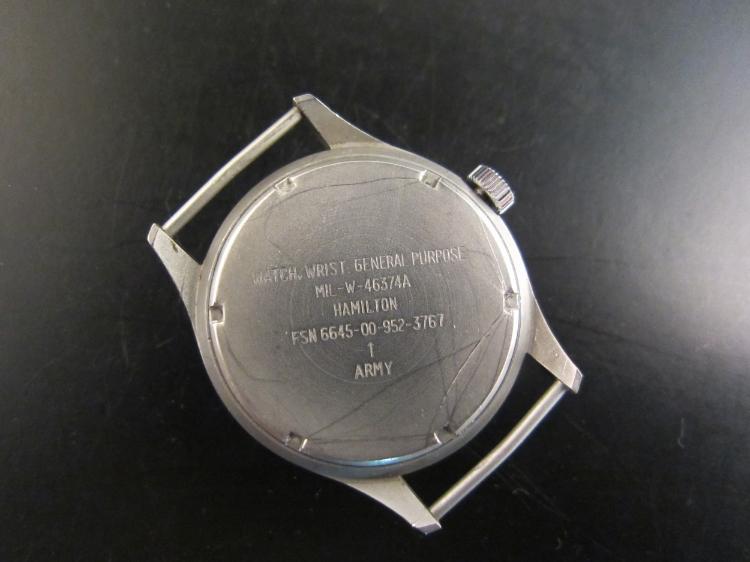 Aussie-issued Hamilton MIL-W-46374A