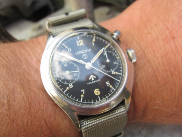 Lemania 6BB Chronograph