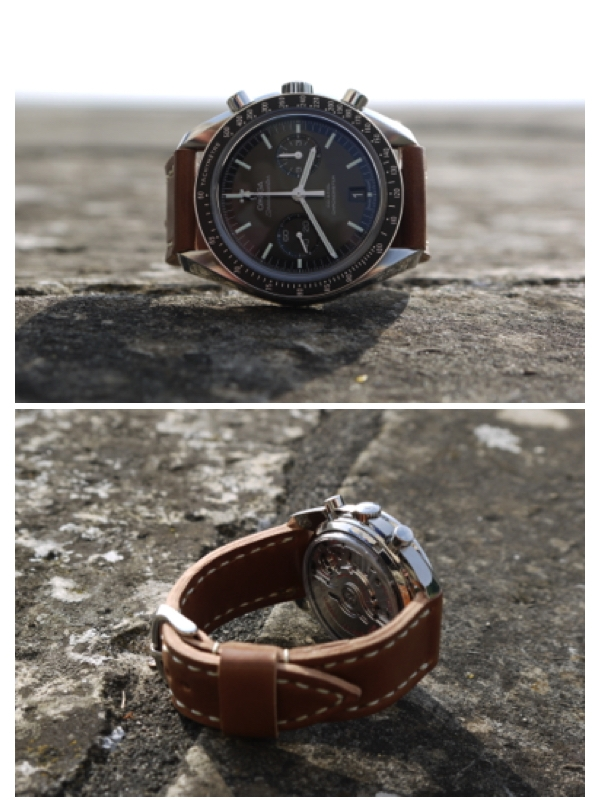 Incredible Speedmaster Moonwatch Co-Axial on Natural Arts & Crafts.