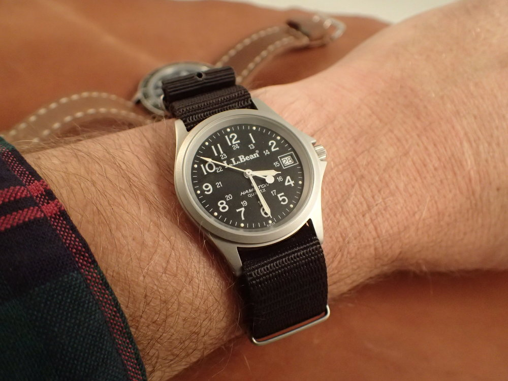 The Hamilton 9445 on the wrist is very wearable today.
