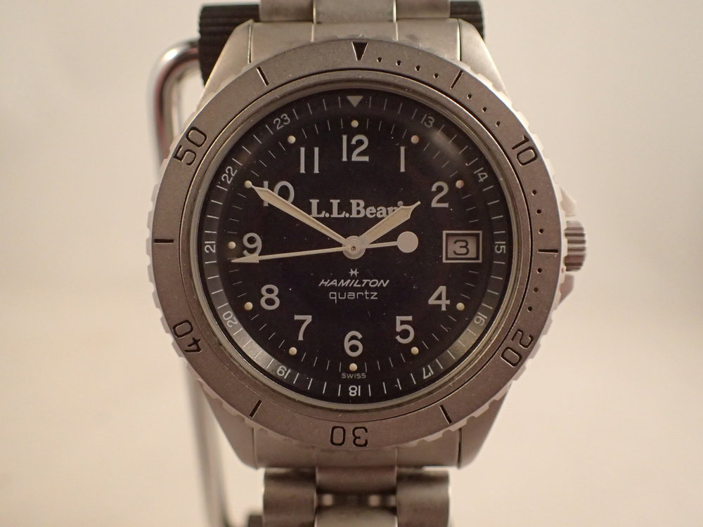 The Hamilton 9369 LL Bean Deluxe Field Watch.