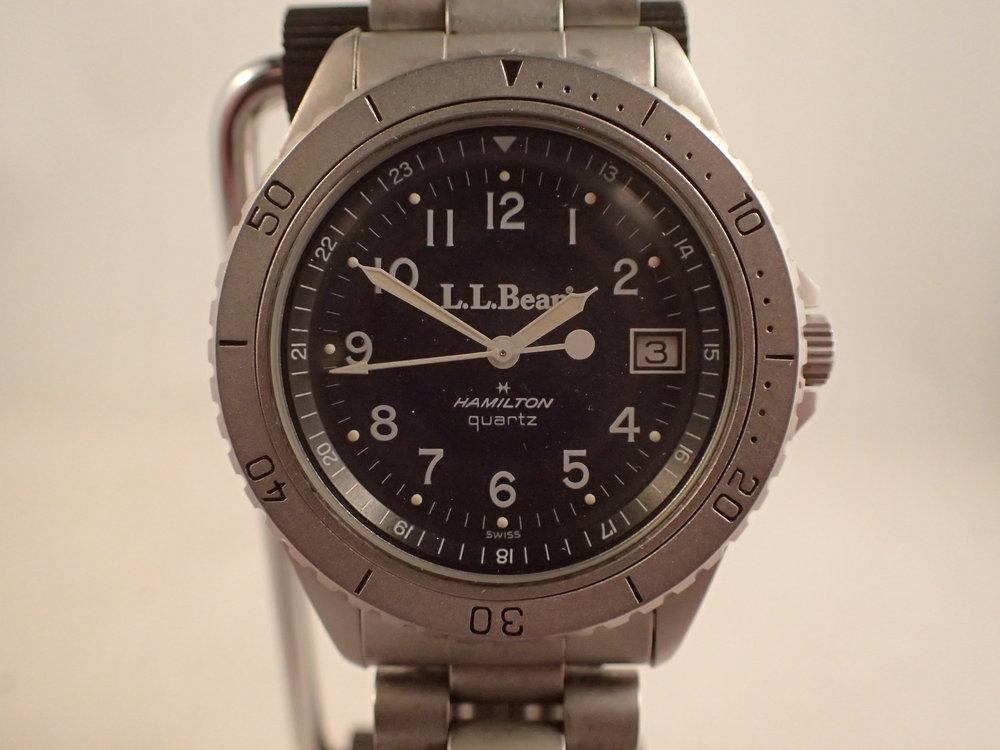 The Hamilton 9369 LL Bean Deluxe Field Watch.