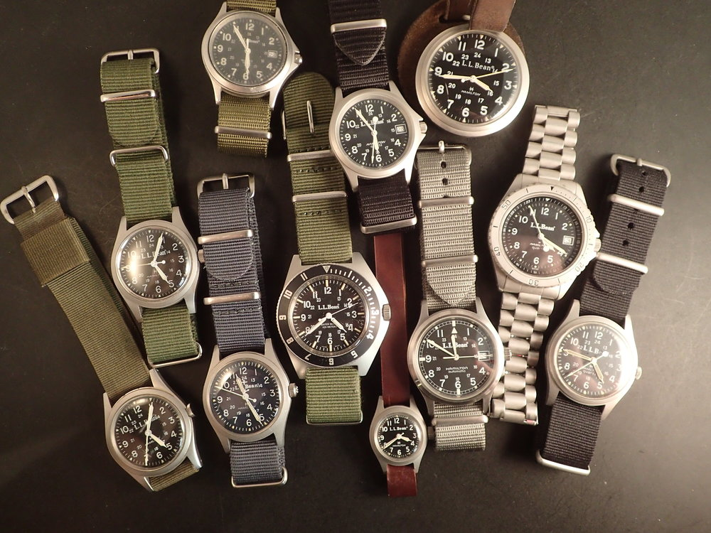 My family of (the most interesting) LL Bean watches.