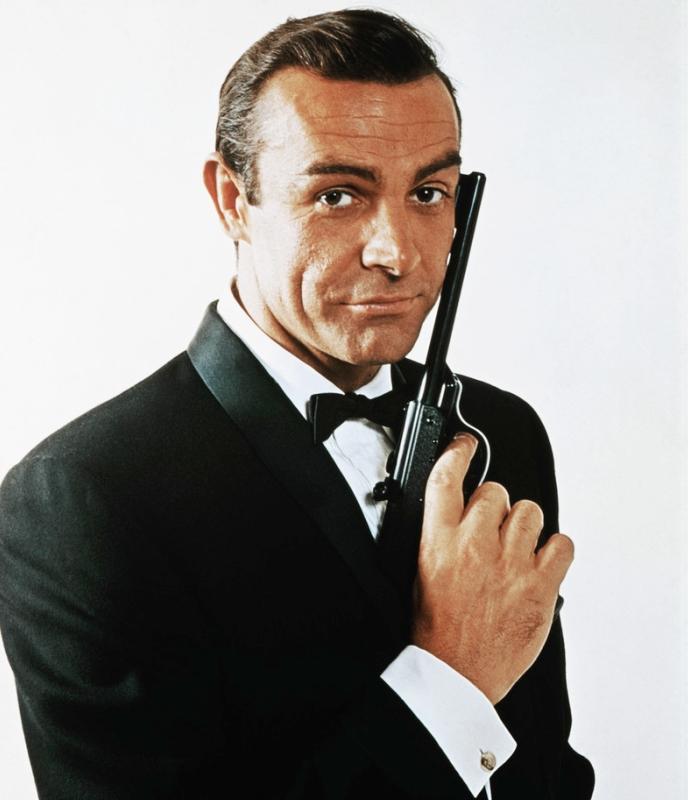 Sean Connery, the original James Bond.