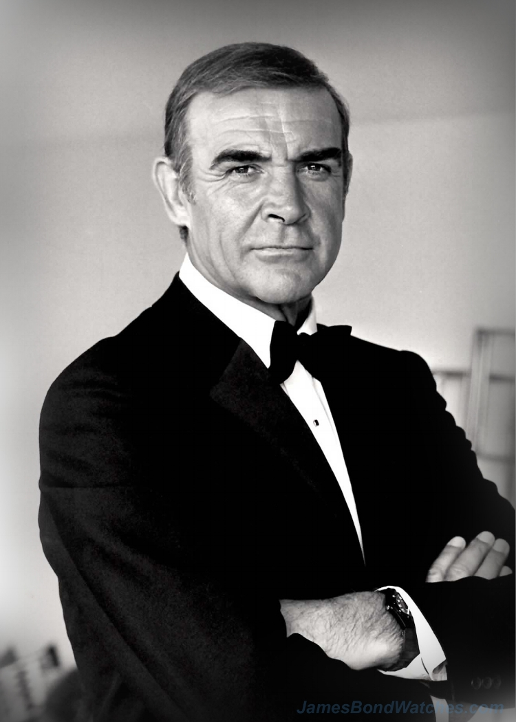 Sean Connery, reprising his role in Never Say Never Again.