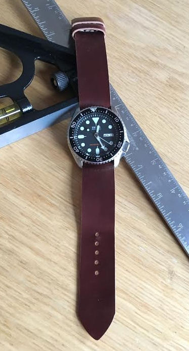Trusty and classic SKX on No. 8 one-piece.  Affordable class and style!