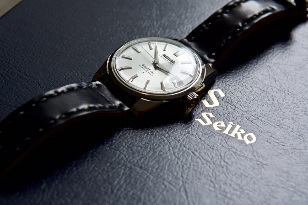 Vintage Grand Seiko on Black Arts & Crafts. Some watches simply never go out of style...