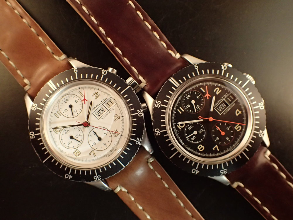The rare Hamilton 156-alikes. I still own the black specimen.