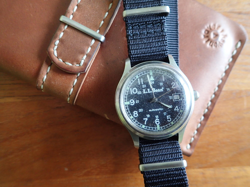 The 2846-powered automatic field watch by Telux.