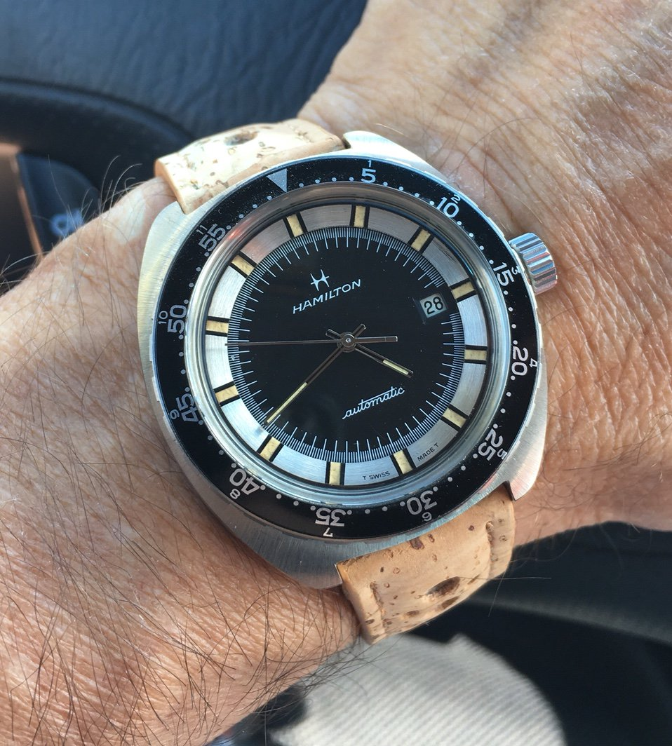 The Hamilton 64065-3 with skinny skeletonized handset.  Image courtesy of franco60@WatchUSeek.