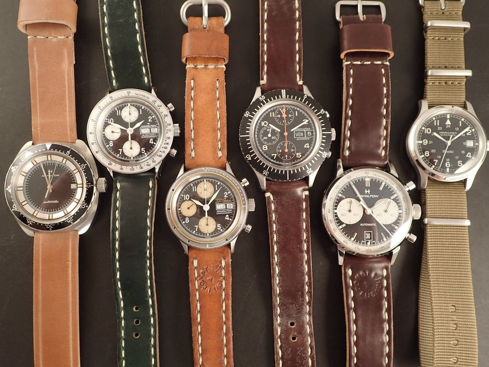 The Hamilton 64065-3 fits in nicely with any Hamilton collection.