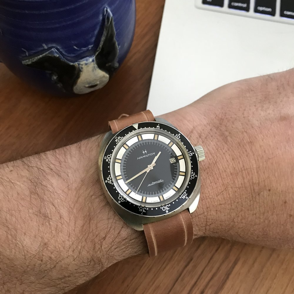 The vintage Pan Europ diver, a great daily wearer with vintage charm to spare.