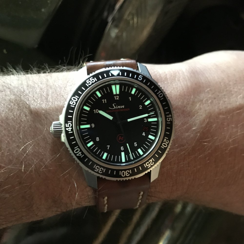 The Sinn EZM 3, the perfect companion for all your Great Lakes adventures.