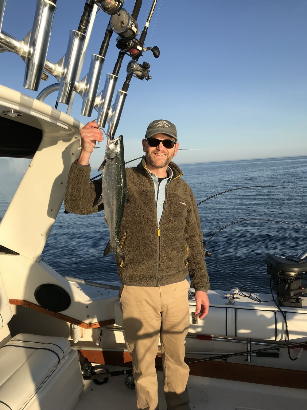 Easily landed, and a great size chinook for table fare.