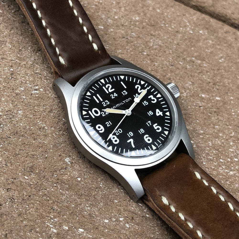 One could do a lot worse than the Hamilton Khaki Field Mechanical no-date when considering One Watch candidates.