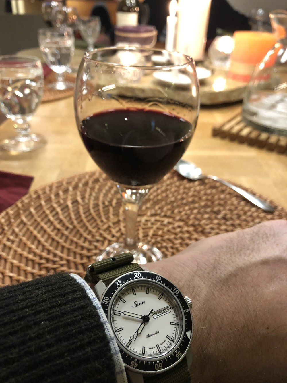 From cabin to dining room, the Sinn 104 White is comfortable everywhere.