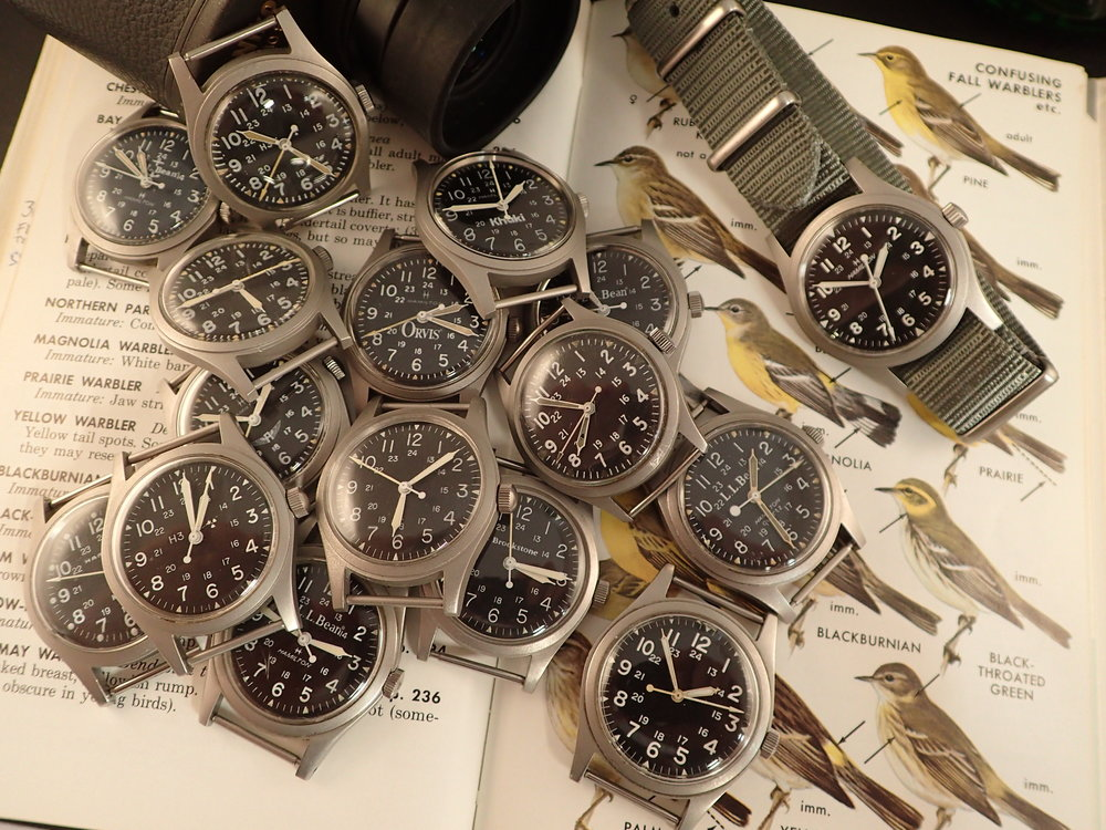 A true collection of watches has a focus, something that all of them have in common.