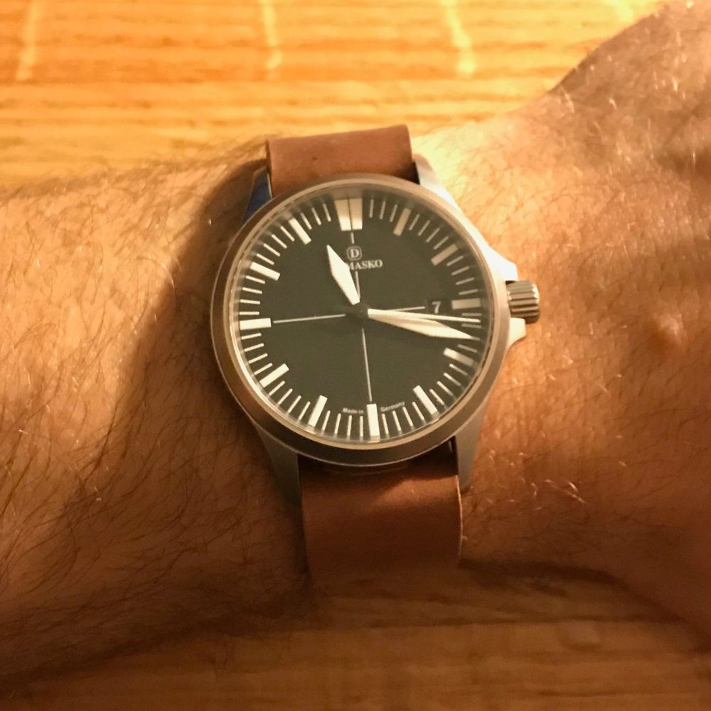 Damasko DS30 on a Natural one-piece.  Just fantastic!