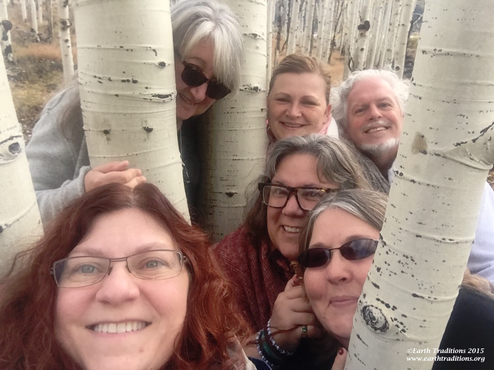 Earth Traditions Tribe in the Pando, Utah - 2015
