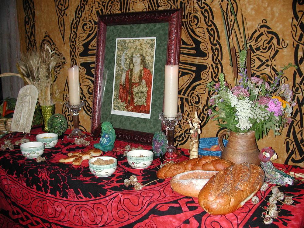 Lughnsadh Altar