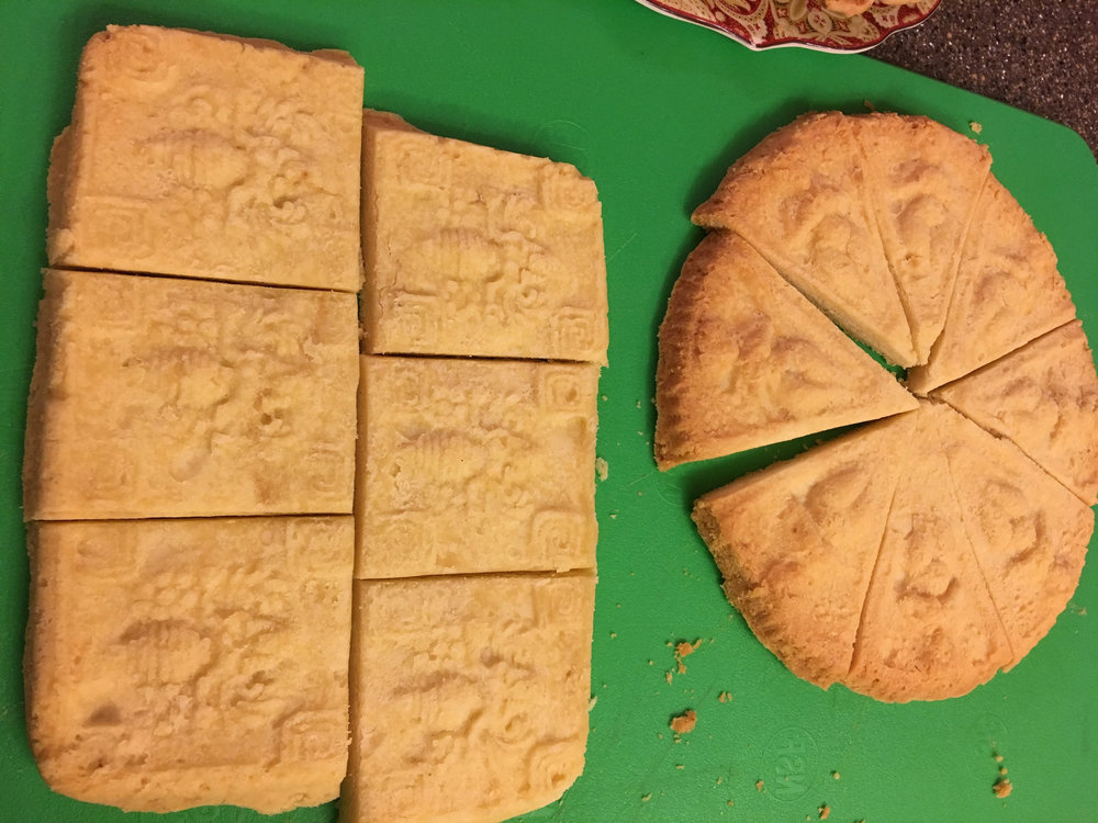 Sacred Shortbread Cookies!