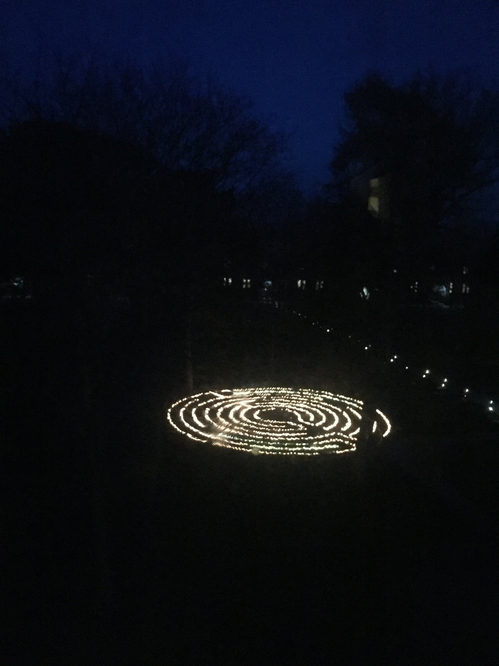 Candlelight Labyrinth