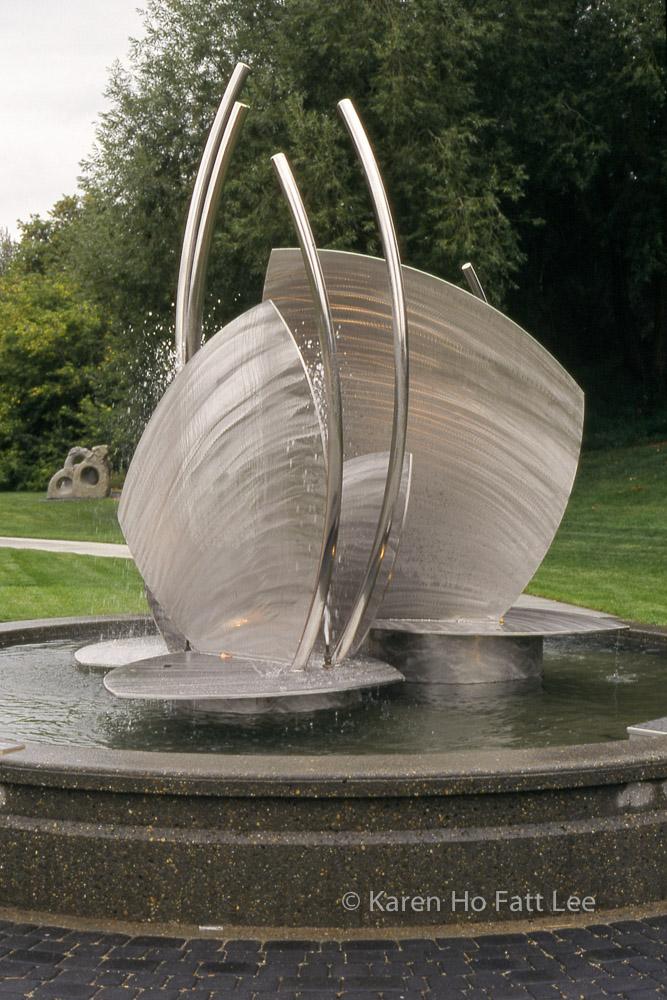 Fountain in Celebration Garden