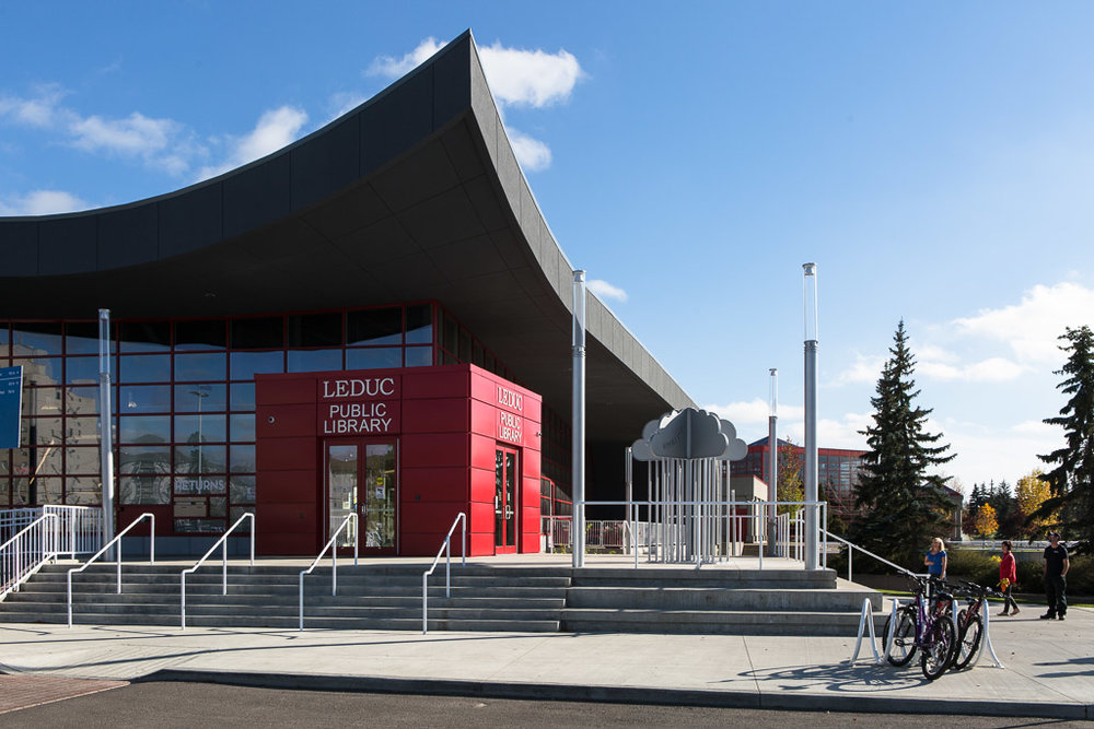 Approach to Leduc Library
