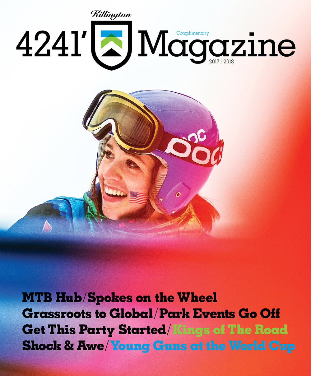 FEATURED WORK  KILLINGTON  4241' MAGAZINE , VOL 7