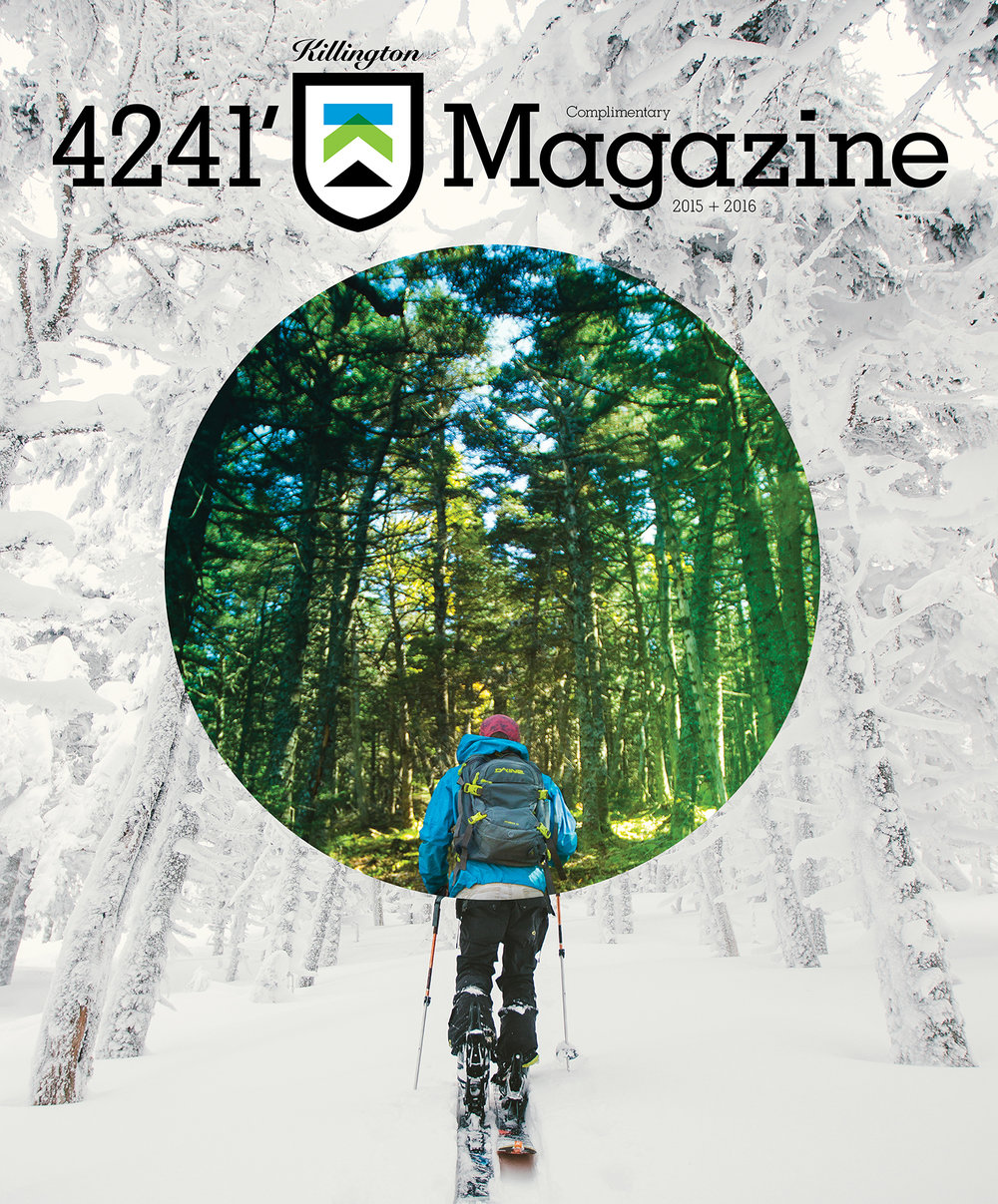 FEATURED WORK  KILLINGTON  4241' MAGAZINE , VOL 5