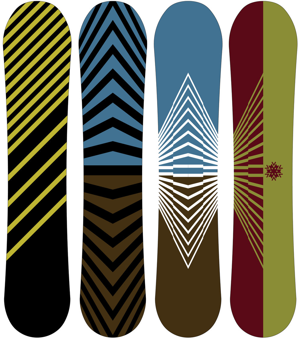 FEATURED WORK  VENTURE SNOWBOARD GRAPHICS