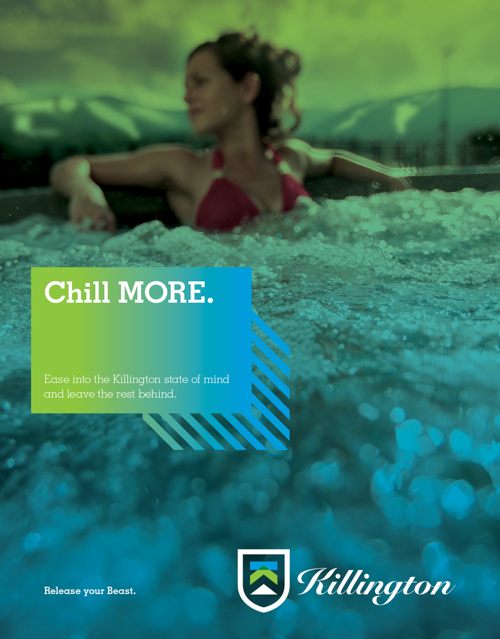 FEATURED WORK KILLINGTON RESORT MORE PRINT CAMPAIGN