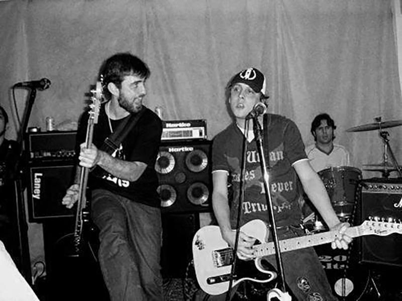 Foto: Acervo da banda (show em São Paulo no Black Jack em 2007)