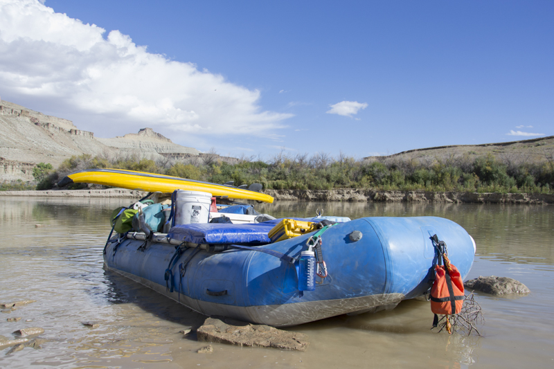 Rafting Desolation and Gray Canyons, Green River, Utah