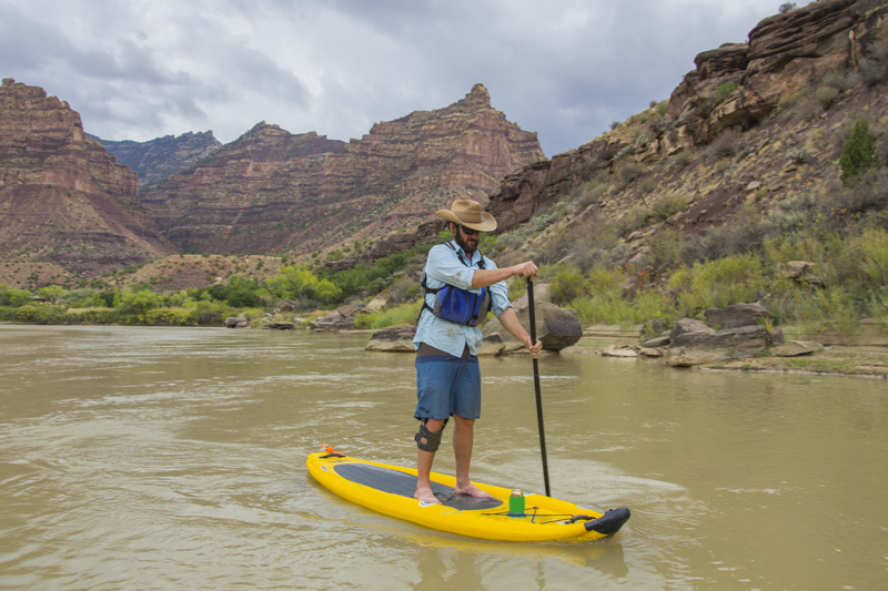 Rafting Desolation and Gray Canyon, Green River, Utah