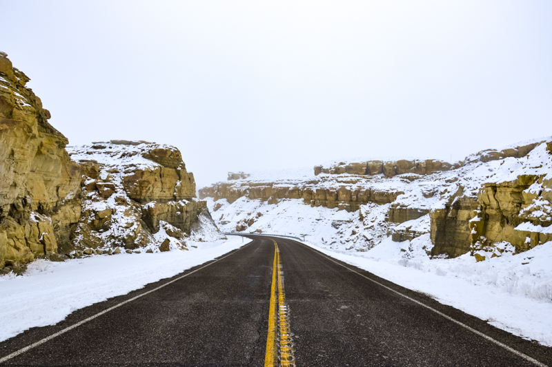 Utah in Winter