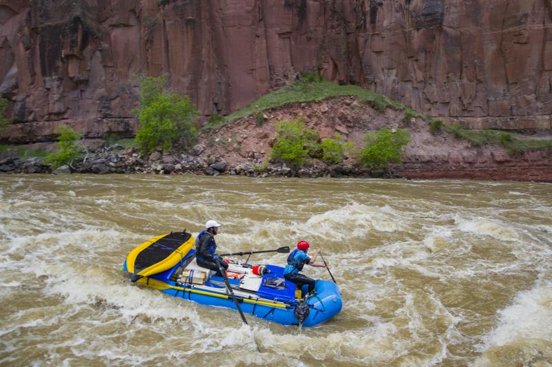 Rafting the Yampa