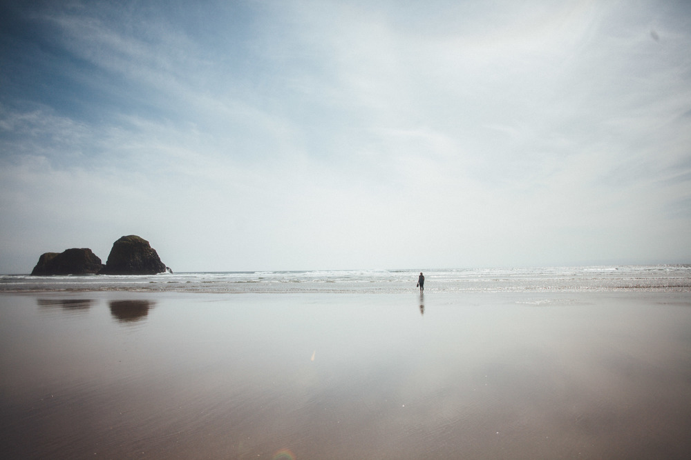 Astoria Beach, Oregon Coast