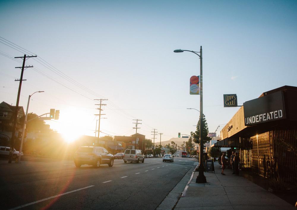 Santa Monica Blvd // Los Angeles, CA