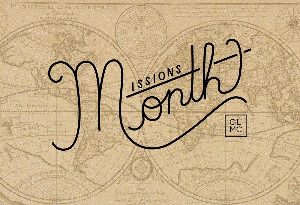 GLMC Missions Month 2017