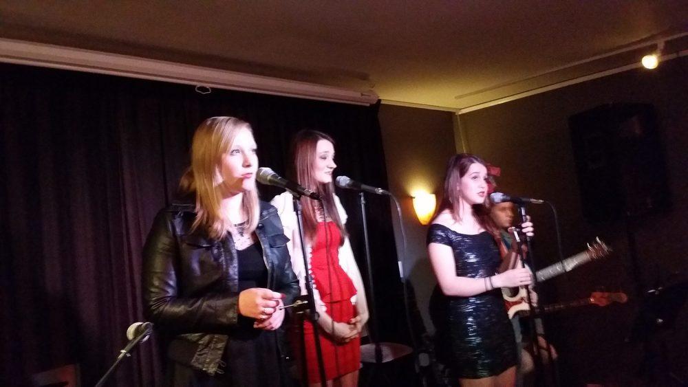 at Pig & Weasel, Evanston, Dec. 2013