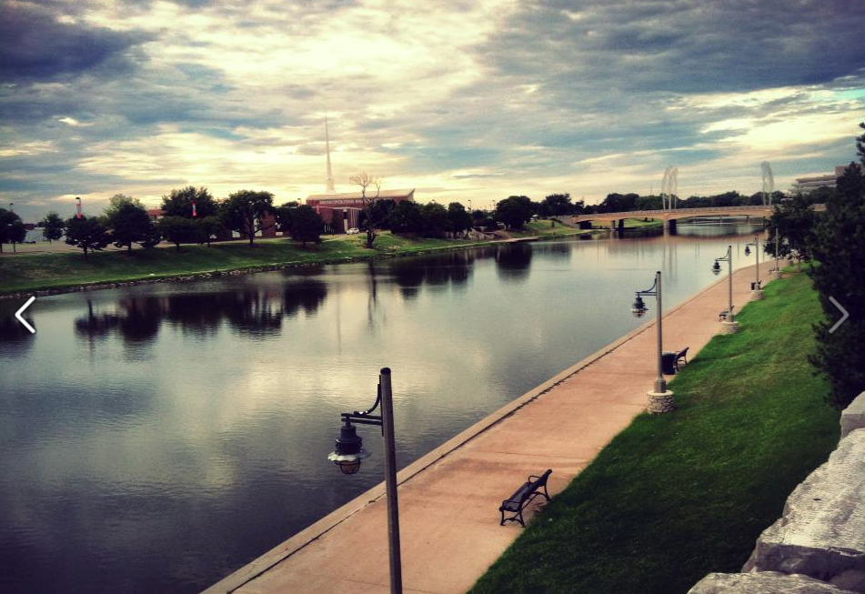 Wichita has more than 60 miles of paths.